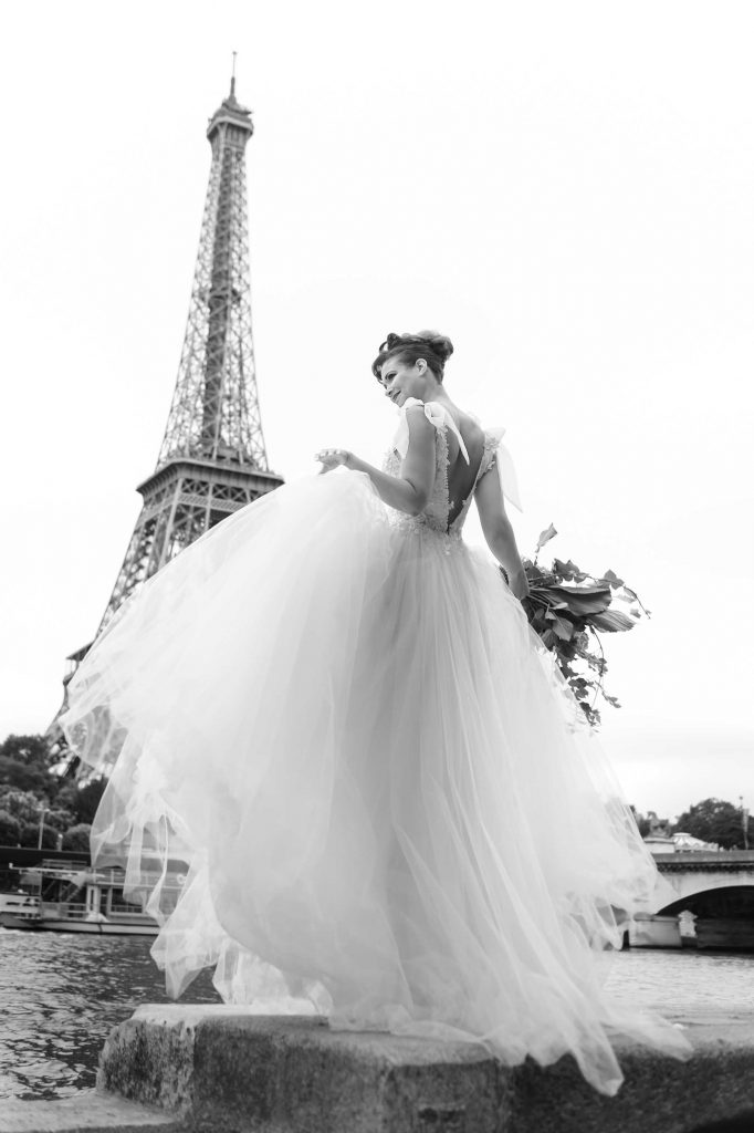 Paris wedding styled shoot
